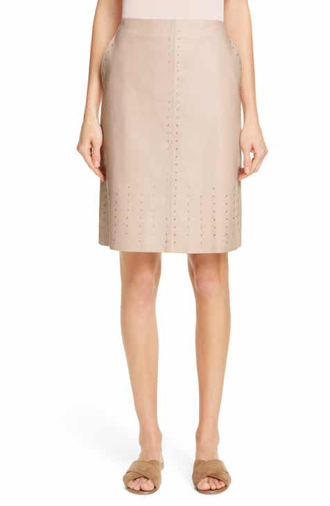 Lafayette 148 New York Whitley Studded Skirt by LAFAYETTE 148