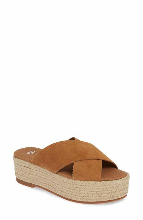 63b35514de8c Lila Platform Espadrille Sandal (Women).  59.95. Product Image. ORANGE FAUX  SUEDE