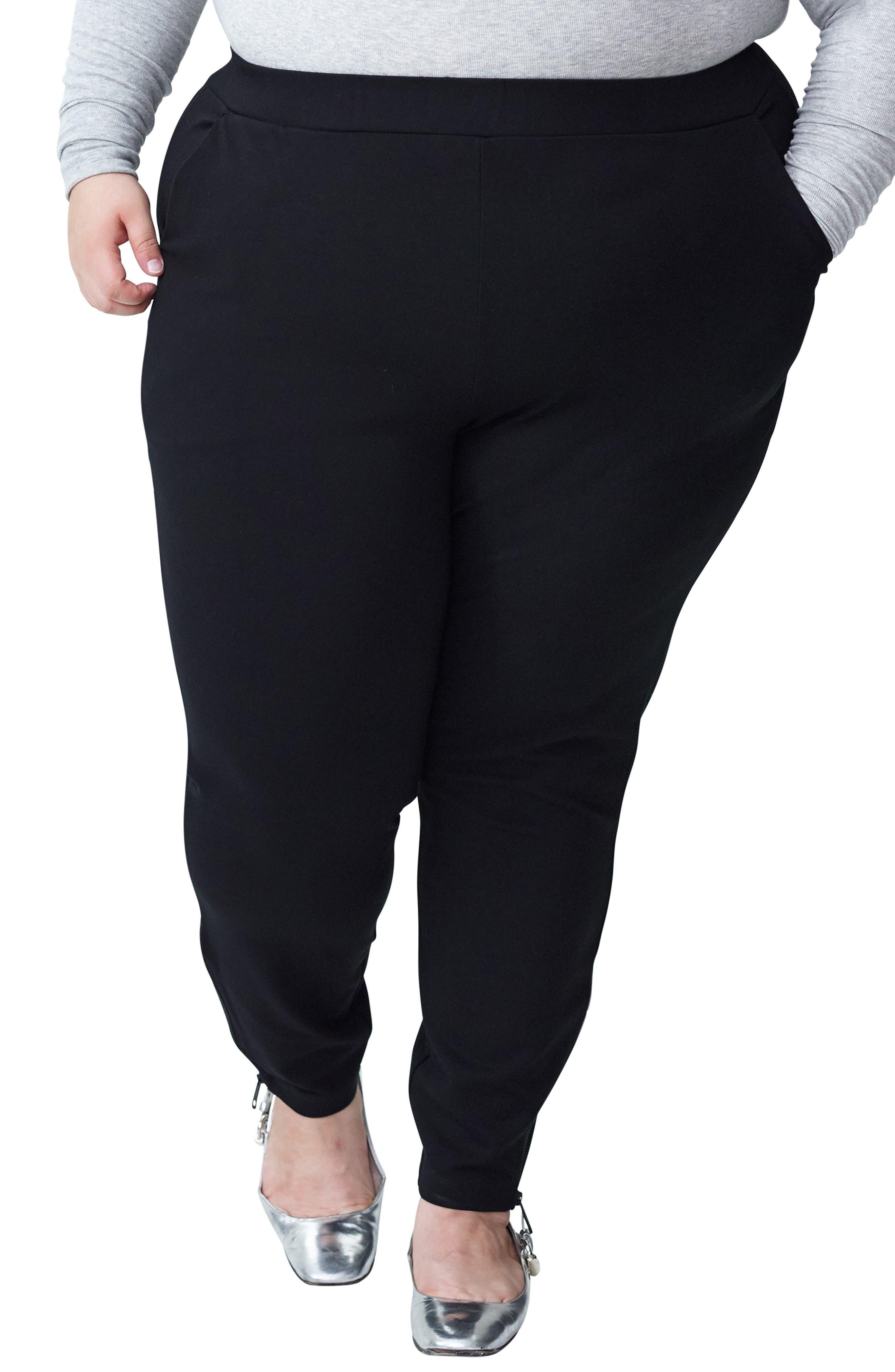 ed1a921932d Women s Ponte Plus-Size Pants   Leggings