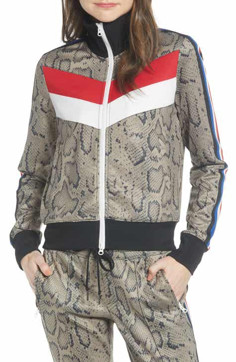 Pam & Gela Colorblock Track Jacket by PAM AND GELA