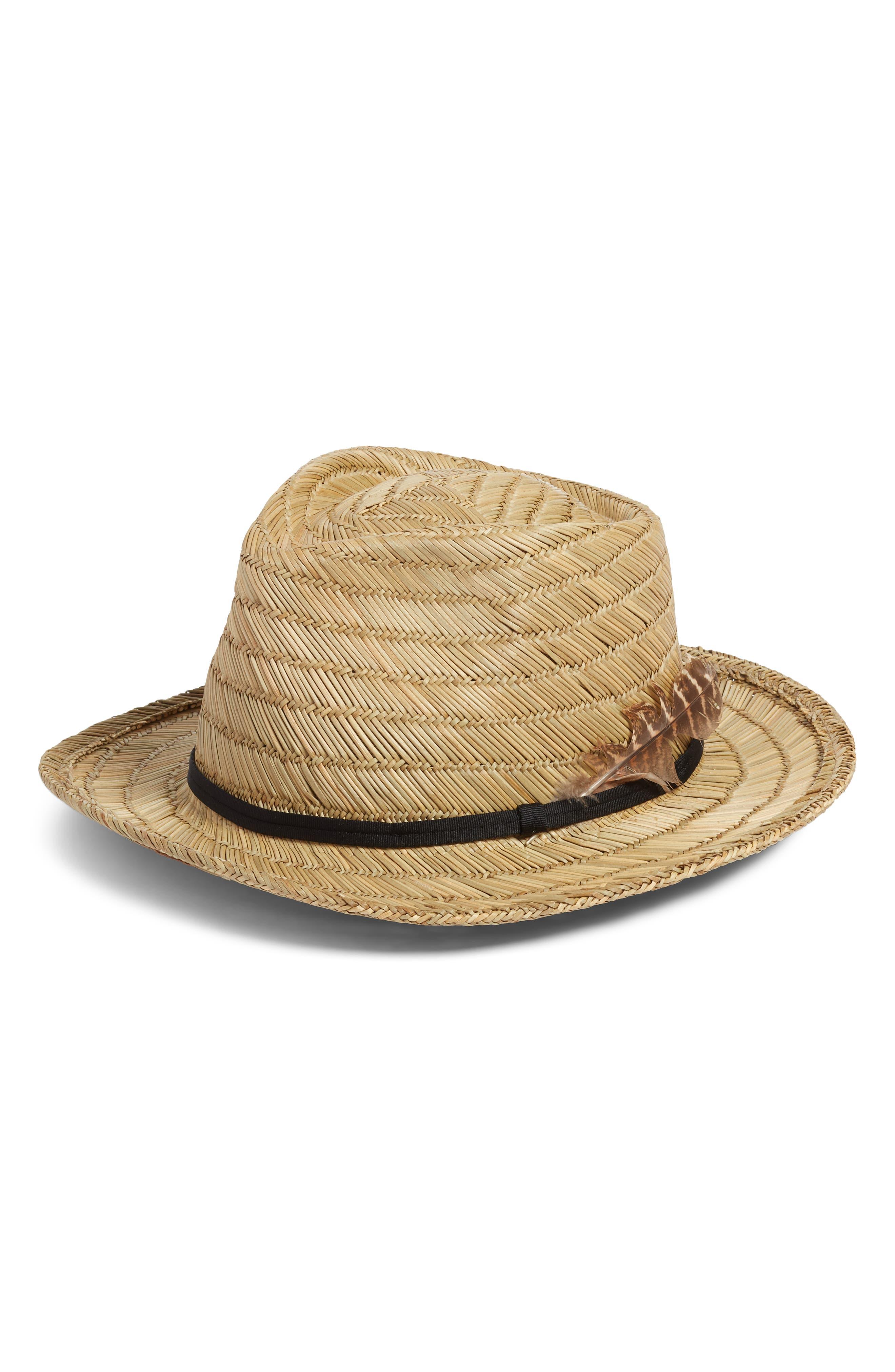 73dfaea50fa Brixton Fedora Hats for Men