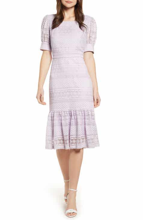 89de939fa9e Rachel Parcell Square Neck Lace Dress (Nordstrom Exclusive)