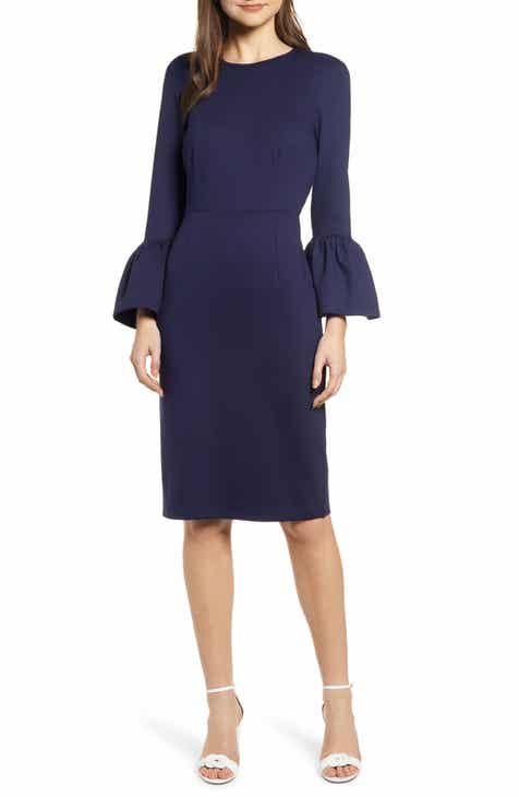 Rachel Parcell Bell Sleeve Sheath Dress (Nordstrom Exclusive) by RACHEL PARCELL