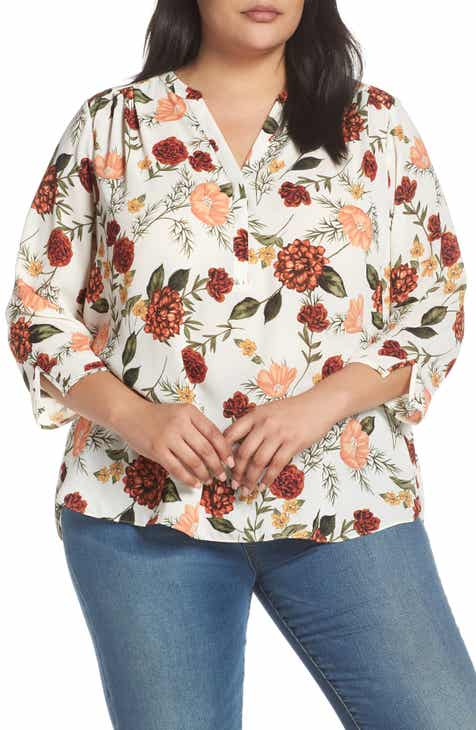 9f40a2de1d2 Curves 360 by NYDJ Perfect Blouse (Plus Size)