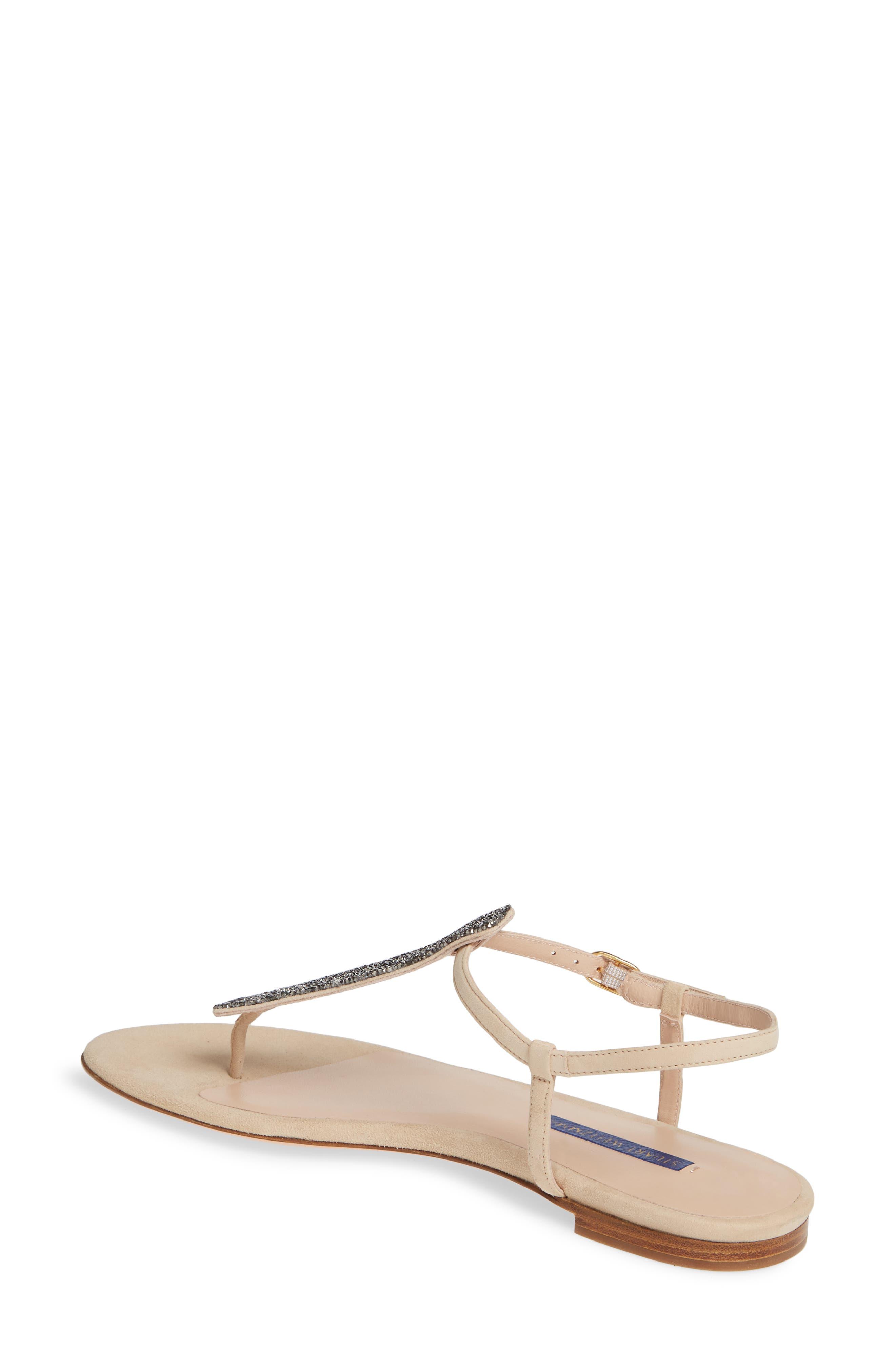 4b8df4483f2 Women s Stuart Weitzman Flat Heeled Sandals