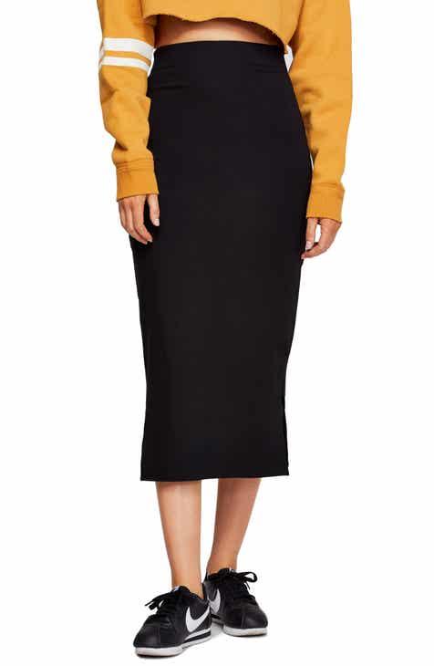 ad2b76fa0ed Free People Highlands Midi Pencil Skirt
