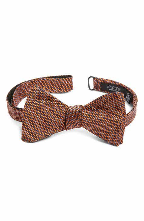5adbe2fca Nordstrom Men s Shop Preston Geometric Silk Bow Tie