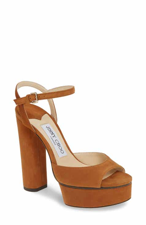 56df2e55abc Jimmy Choo Peachy Platform Sandal (Women)