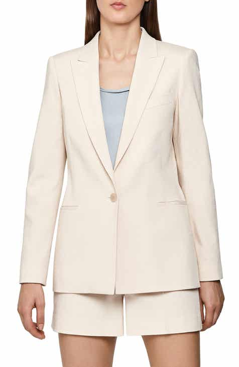 Balmain Long Hooded Blazer by BALMAIN