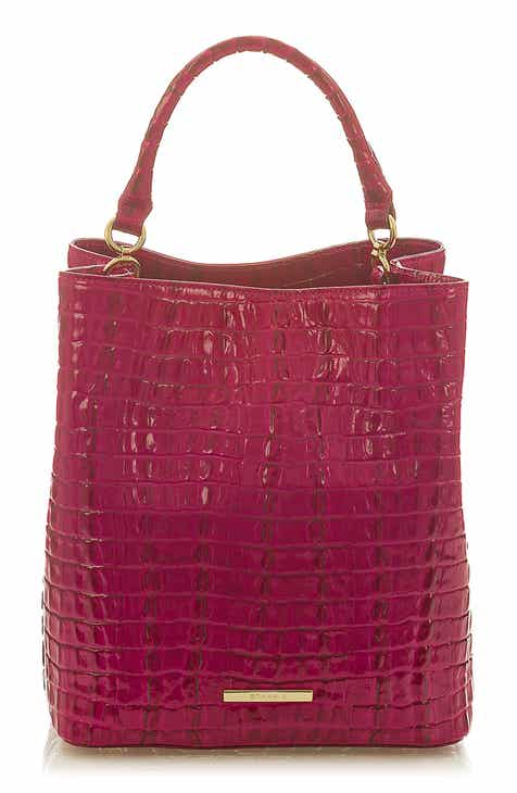 e0d7a05b09cd Brahmin Amelia Croc Embossed Leather Tote