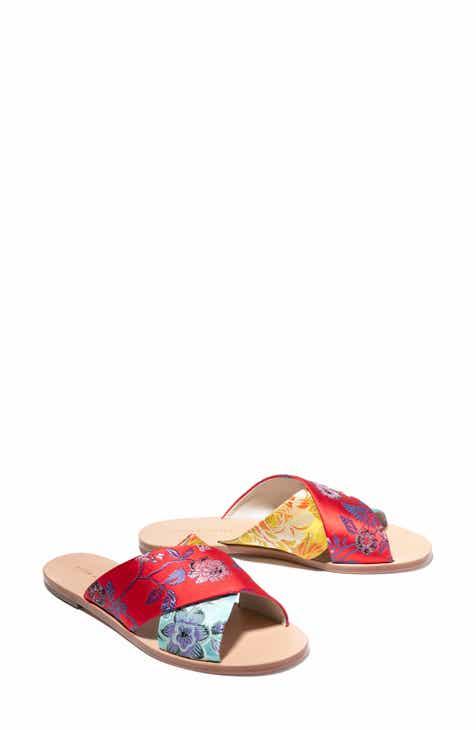 720c5621669e Alice + Olivia Harrieta Floral Slide Sandal (Women)