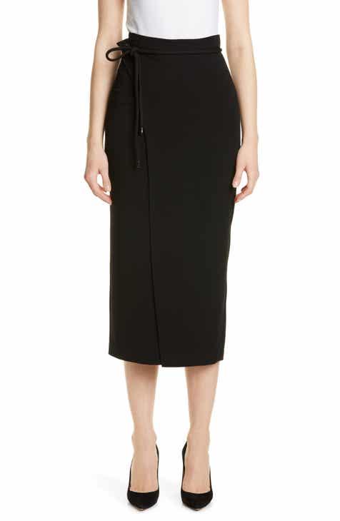 Max Mara Attilia Ruffle Silk Skirt by MAX MARA