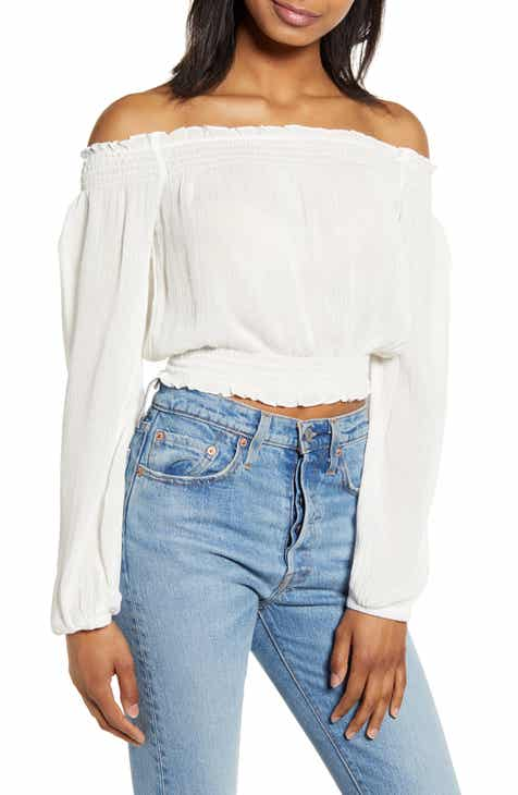 ca9e1dfca26e03 Lira Clothing Kaylee Off the Shoulder Top