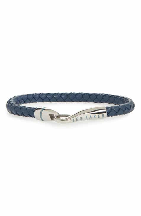 76f74164aacbb Ted Baker London Braided Leather Bracelet