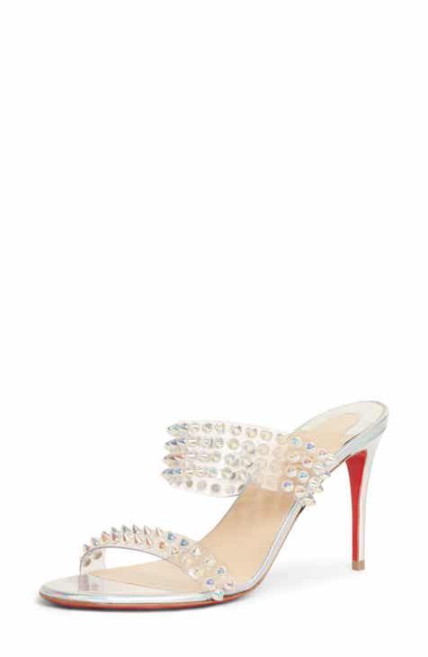 f10636b5c8c Christian Louboutin Spikes Only Slide Sandal (Women)