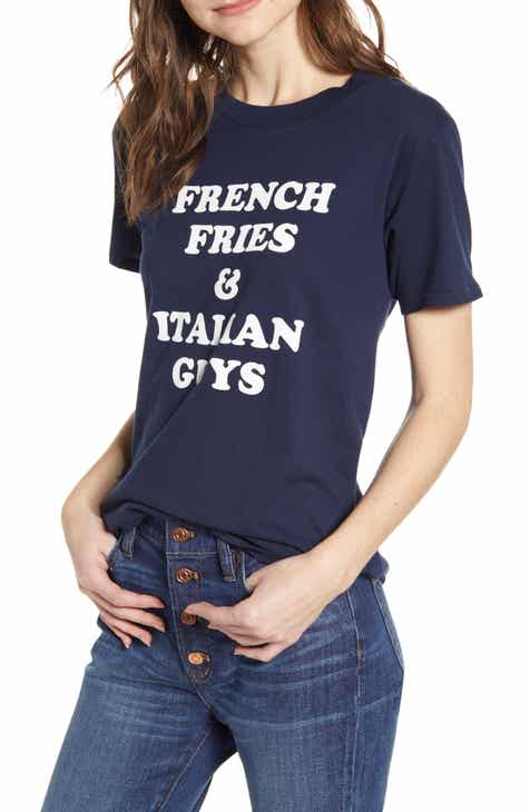 d29e50125852e J.Crew French Fries   Italian Guys Tee (Regular   Plus Size)