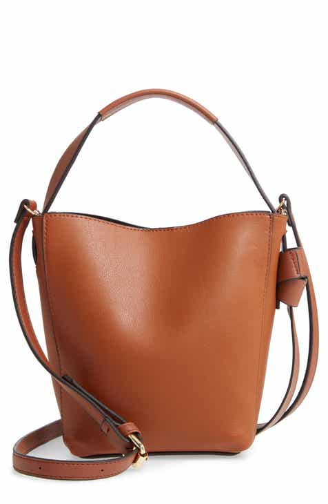 58d20aa60d62 Sondra Roberts Faux Leather Crossbody Bucket Bag