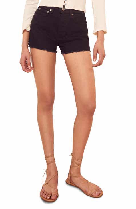 2dd1065599f Reformation Dixie High Waist Cutoff Denim Shorts