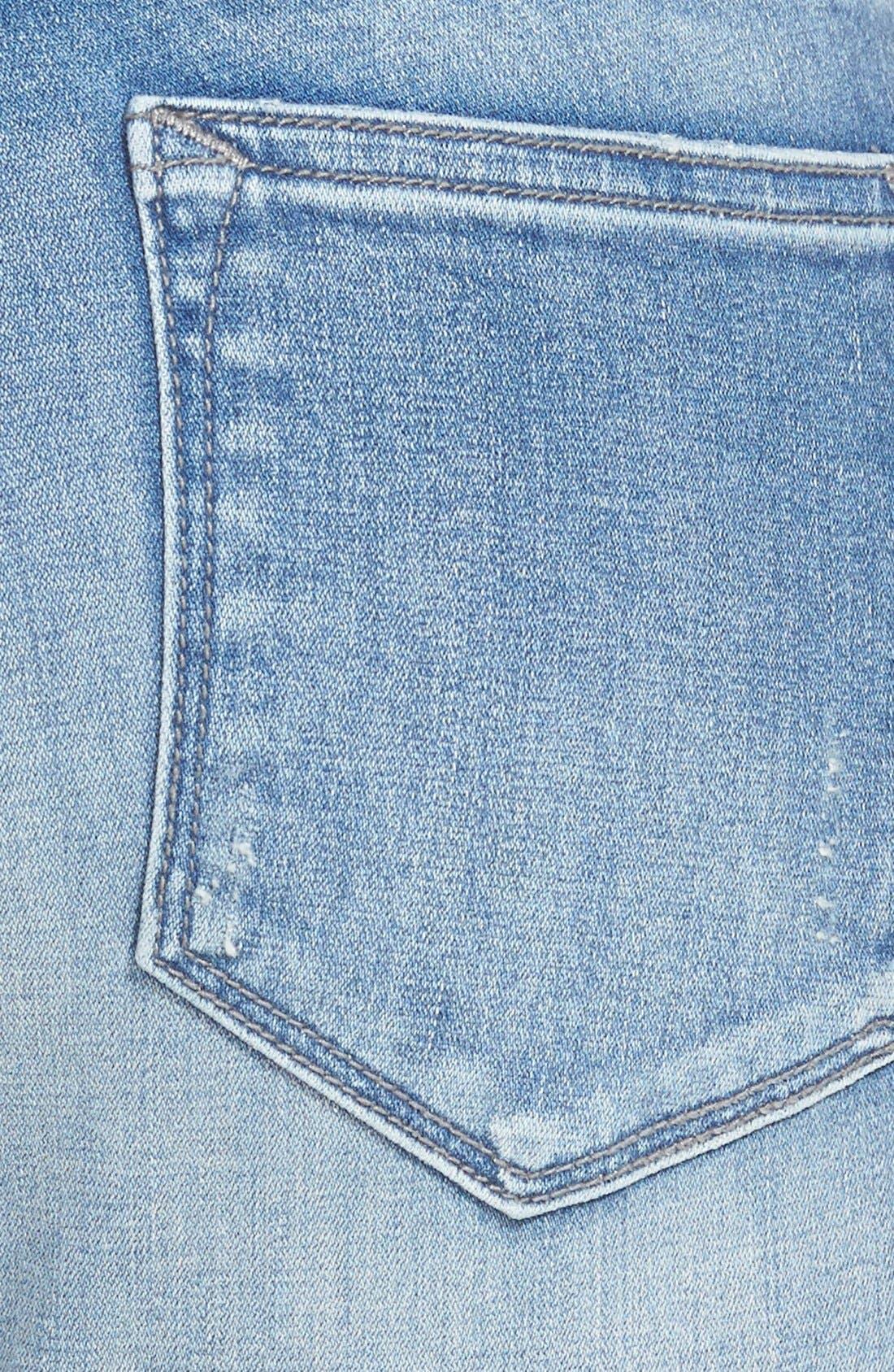 Alternate Image 3  - Vigoss Skinny Jeans (Light)