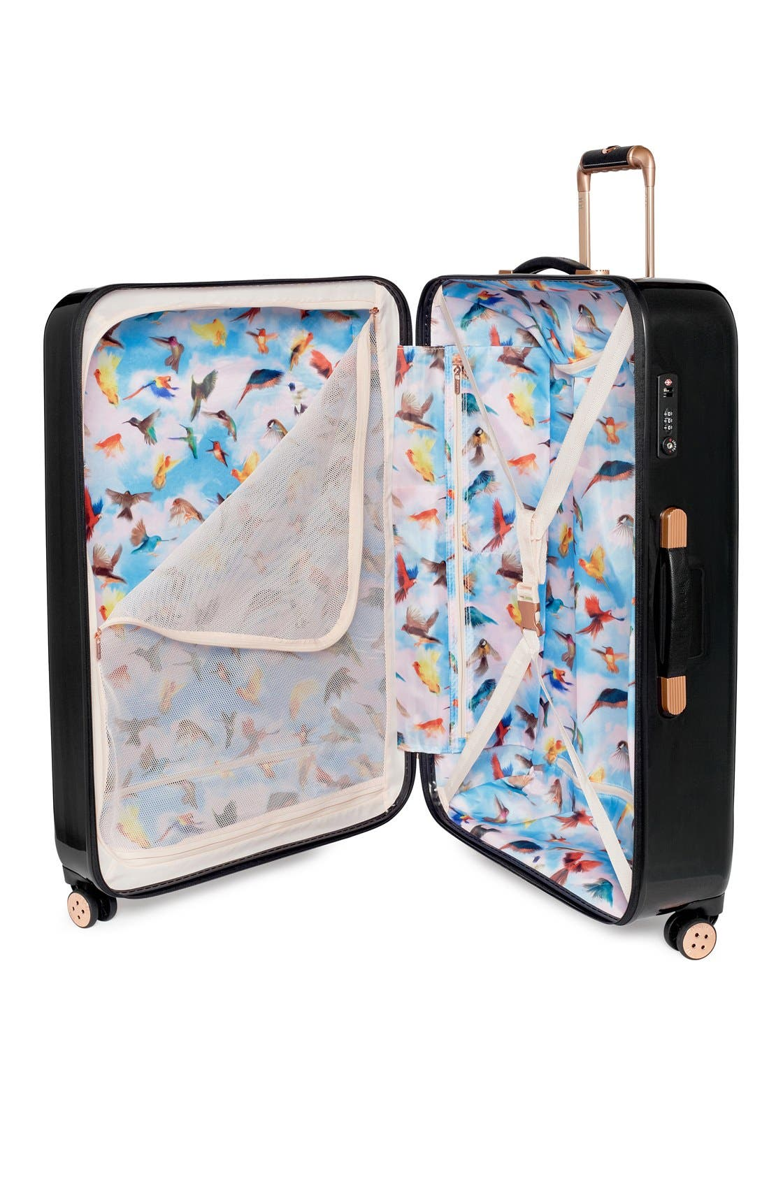 Alternate Image 3  - Ted Baker London 'Small Cascade Floral' Hard Shell Suitcase (22 Inch)