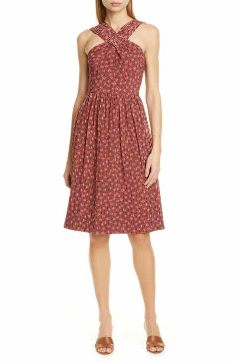 kate spade new york floradoodle halter dress