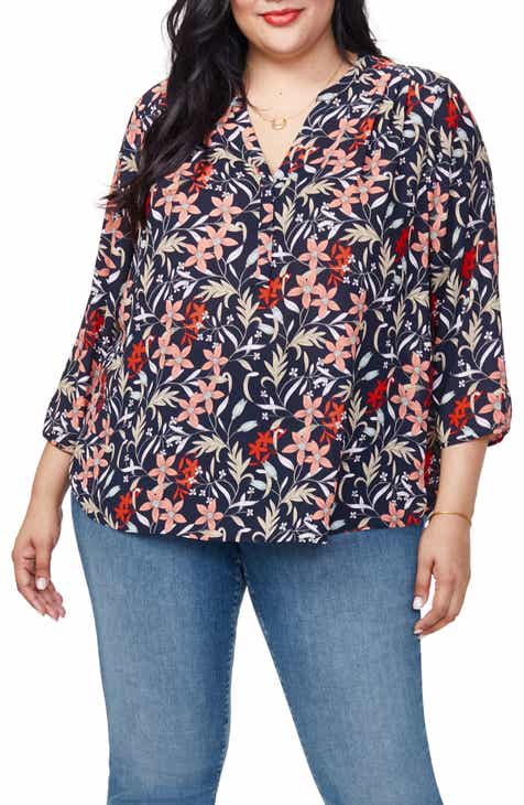 Curves 360 By Nydj Perfect Blouse Plus Size
