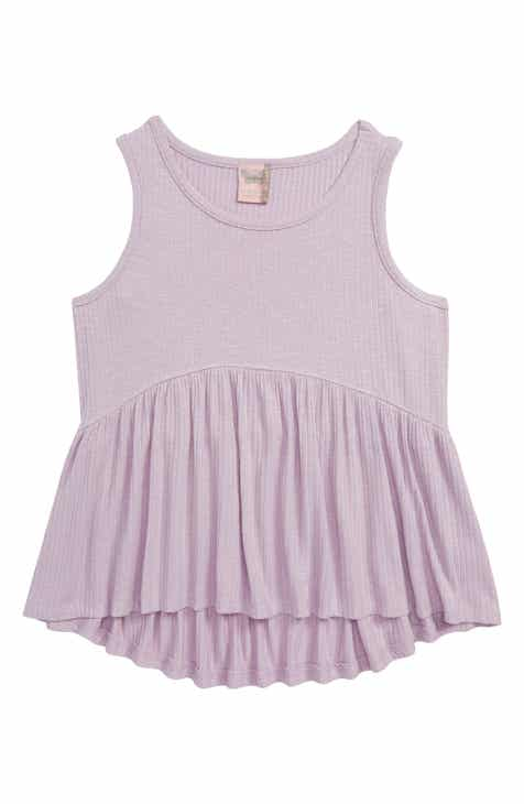 6d2bdcc468fa3 For All Seasons Simple Spring Ribbed Tank (Big Girls)