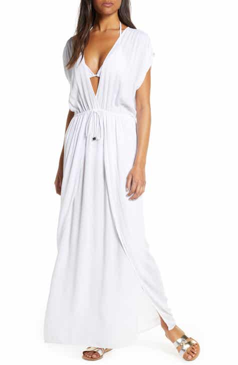 879da4fe94 Elan Wrap Maxi Cover-Up Dress