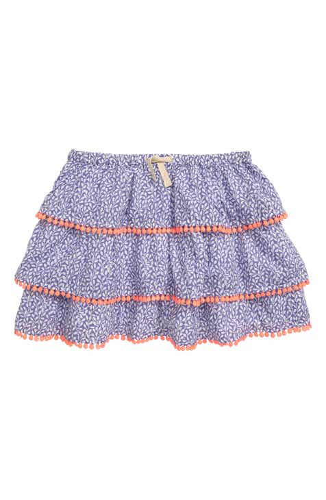 f5e1afb762b0a Mini Boden Print Ruffle Skirt (Toddler Girls, Little Girls & Big Girls)