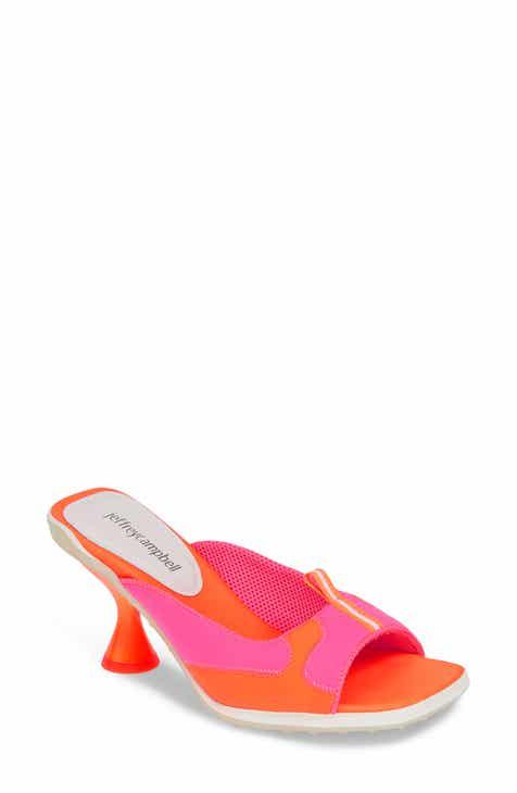 7935e26492c Jeffrey Campbell Qtrback Slide Sandal (Women)