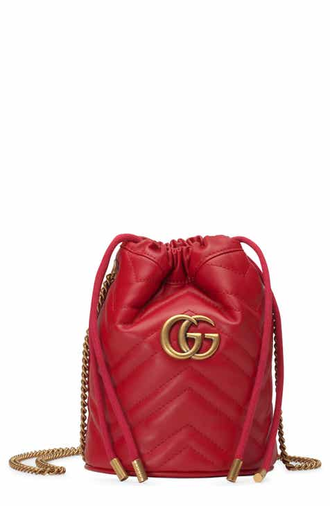 5b30cf2c859 Gucci Mini GG Marmont 2.0 Quilted Leather Bucket Bag