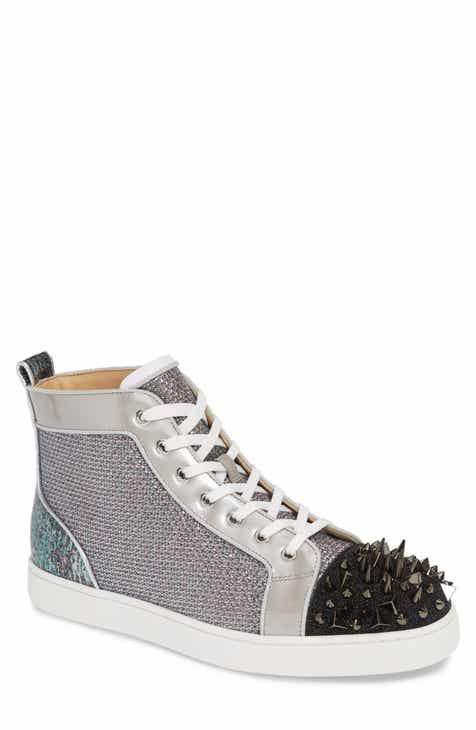 4a4c3920d00f Christian Louboutin Louis Orlato Crystal High Top Sneaker (Men)
