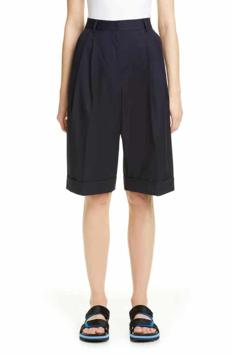 Dries Van Noten Partan Cotton & Wool Shorts by DRIES VAN NOTEN
