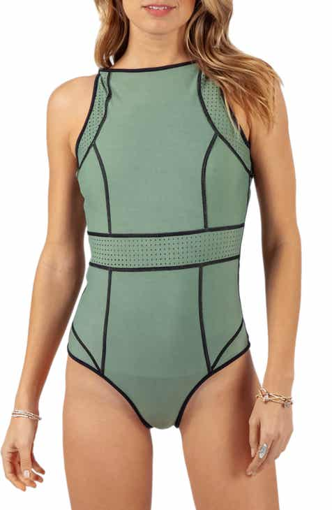 8f10f50f6aff2 Rip Curl Mirage Impact Reversible One-Piece Swimsuit