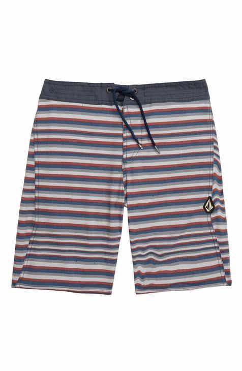 1cb789af74 Volcom Aura Stripe Board Shorts (Big Boys)