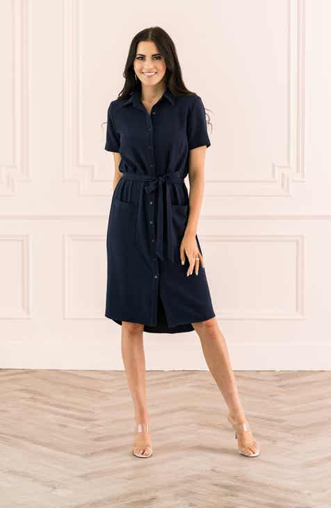 Rachel Parcell Everyday High Low Shirt Dress Nordstrom Exclusive