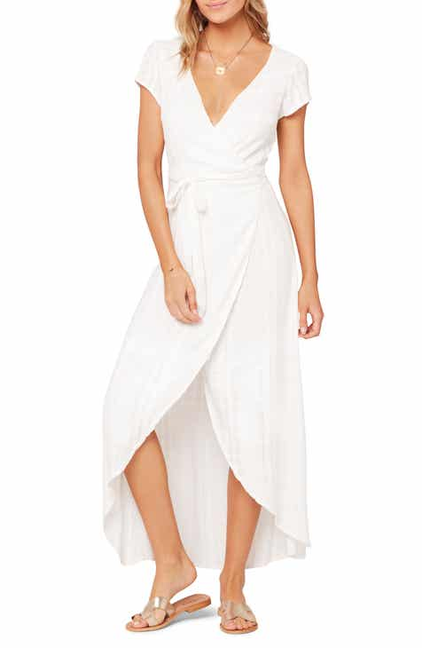 f739e88290 L Space Goa Cover-Up Maxi Wrap Dress