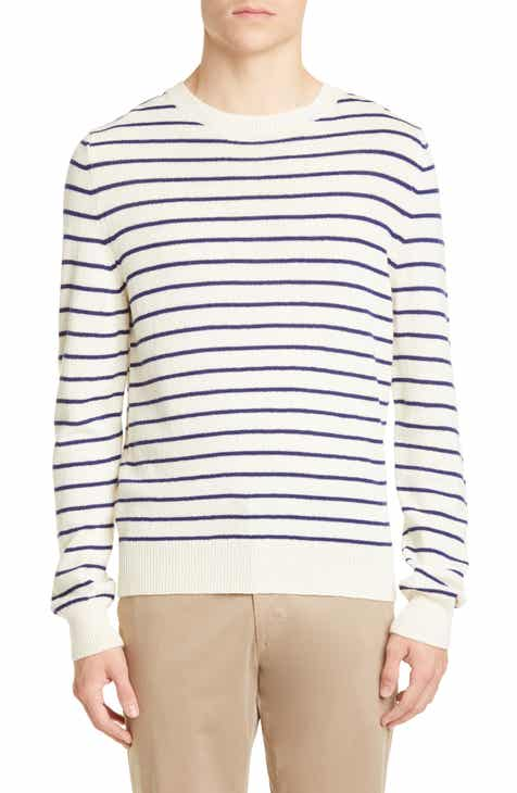 4c398112e88 A.P.C. Pull Gaspard Stripe Wool Sweater
