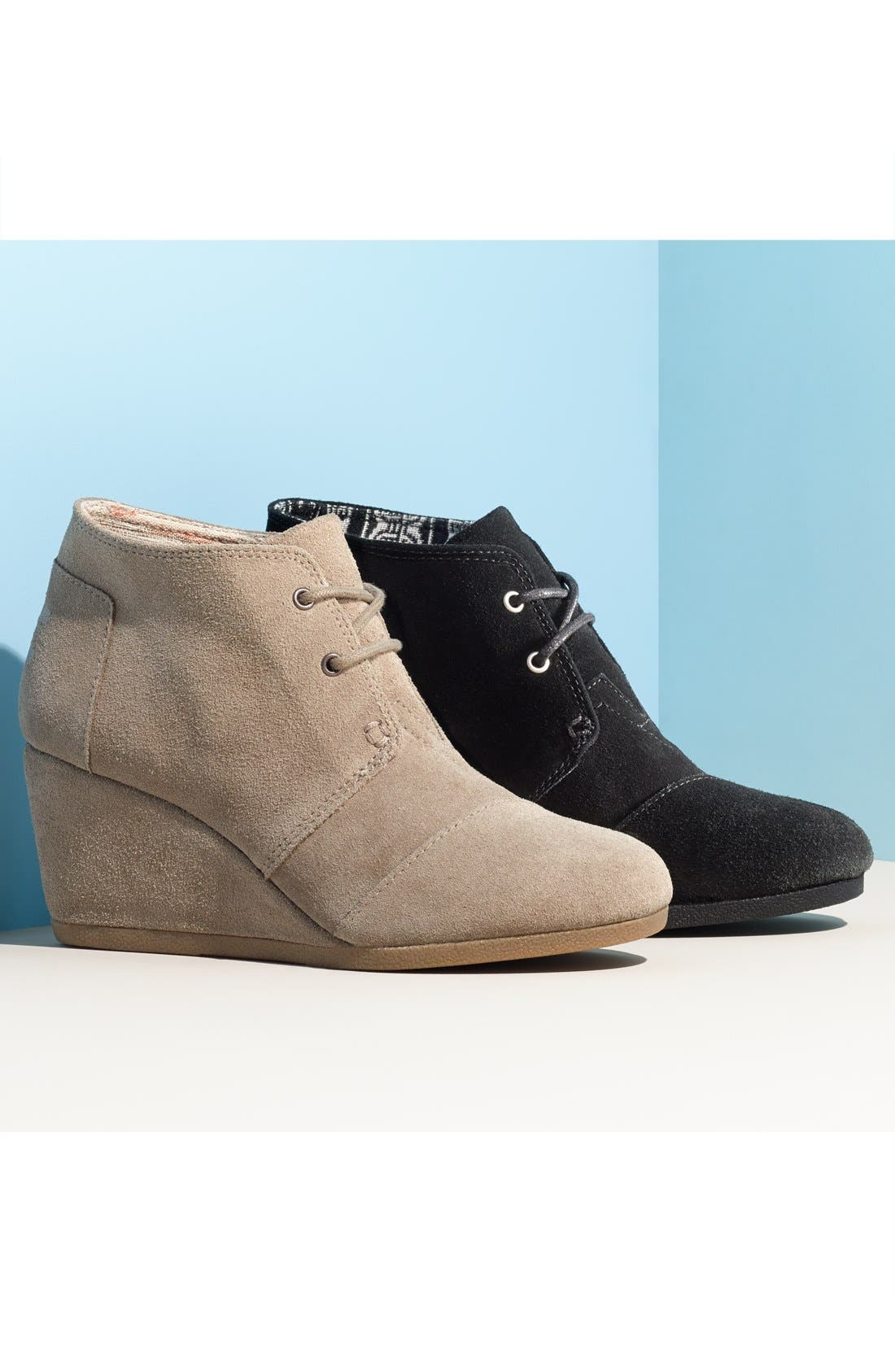 'Desert' Wedge Bootie,                             Alternate thumbnail 5, color,