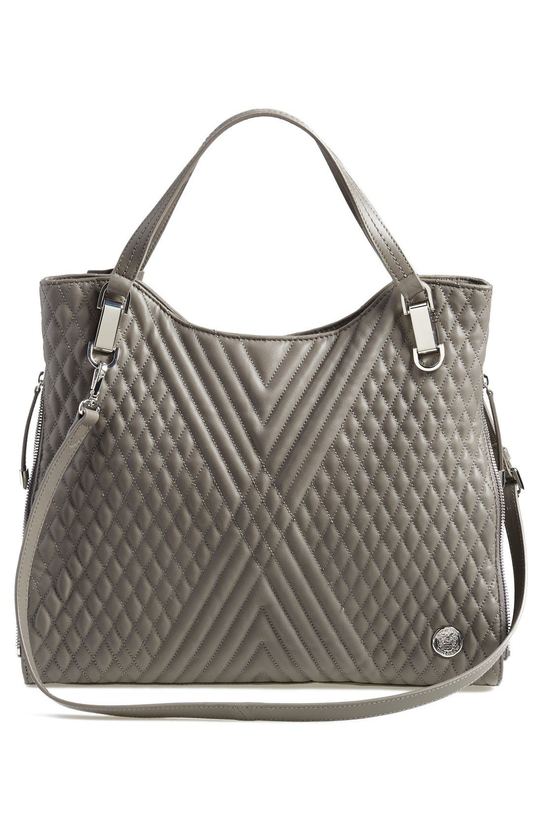Alternate Image 3  - Vince Camuto 'Riley' Quilted Leather Tote