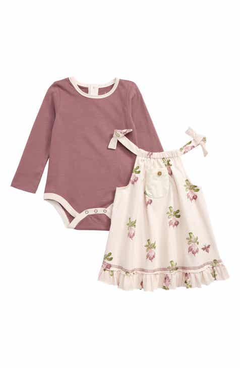 115fda6fd Baby Girls' Burt's Bees Baby Clothing: Dresses, Bodysuits & Footies ...