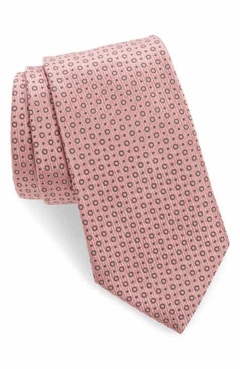c59908d82203 Emporio Armani Dot Silk Blend Tie