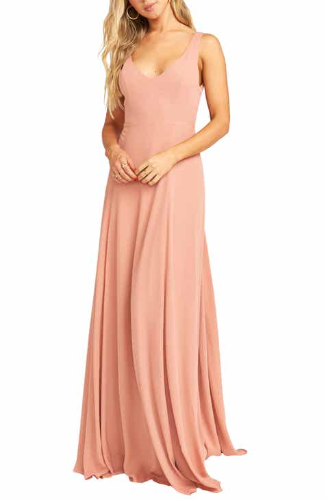 e2159811a3 Chiffon Bridesmaid Dresses | Nordstrom