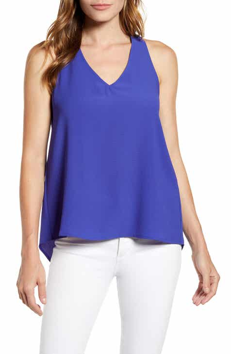50f6d95368efd5 Gibson x Hot Summer Nights Two Peas V-Neck Halter Top (Regular & Petite)  (Nordstrom Exclusive)
