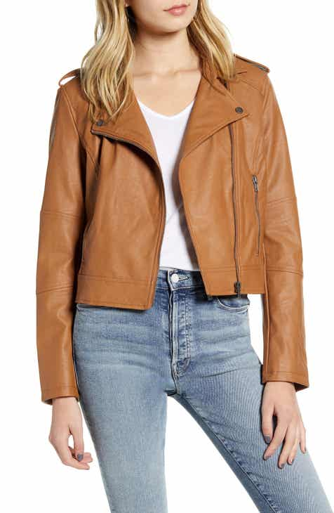 61b3ee5b0 Women's Leather & Faux Leather Coats & Jackets | Nordstrom