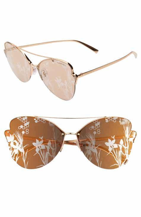 3fde2061f Tiffany & Co. 64mm Oversize Butterfly Sunglasses
