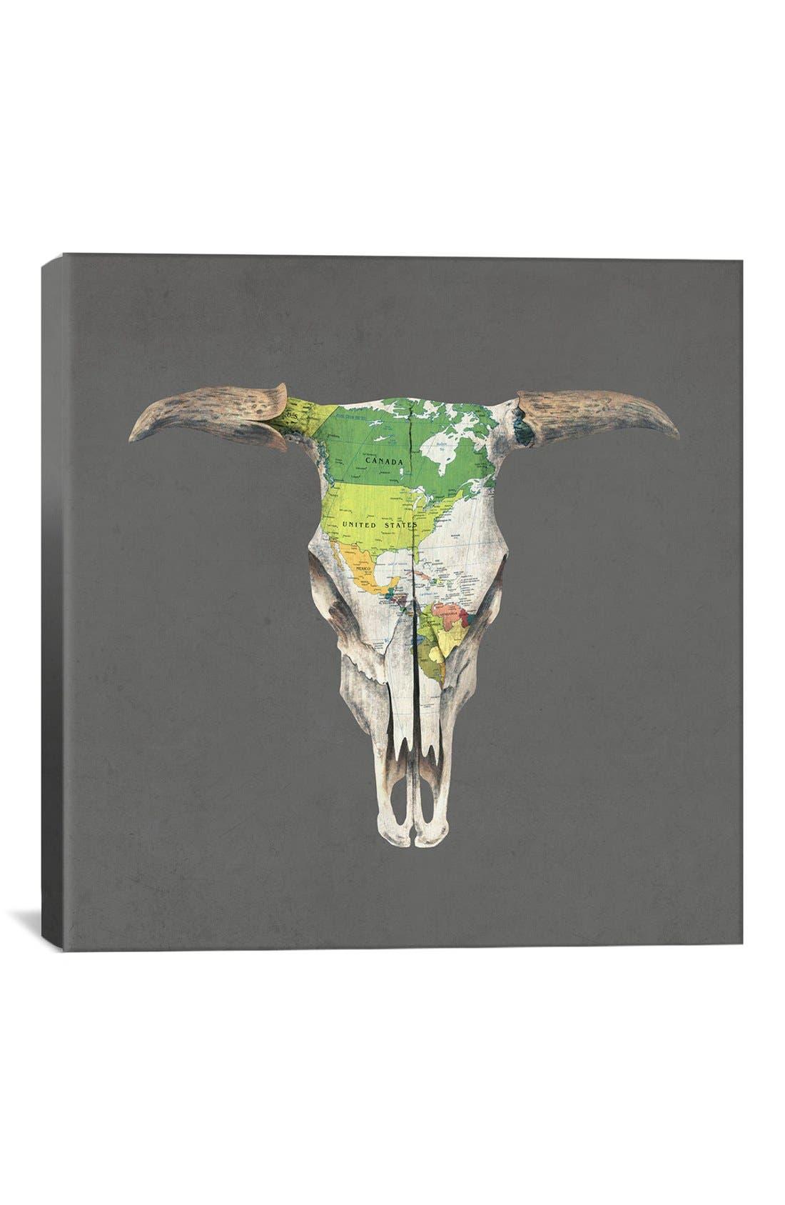 Alternate Image 1 Selected - iCanvas 'Go West - Terry Fan' Giclée Print Canvas Art