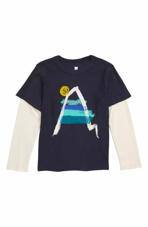 c83ee60a0e8f Tea Collection Painted Everest Graphic Layered T-Shirt (Toddler Boys & Little  Boys)