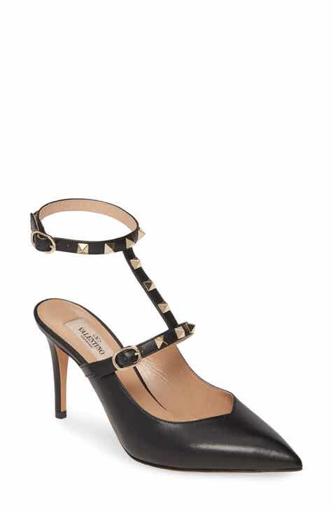 7216ebd83 VALENTINO GARAVINI Rockstud Ankle Strap Pump (Women)