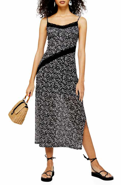 Weekend Sale Topshop Floral Lace Sleeveless Dress
